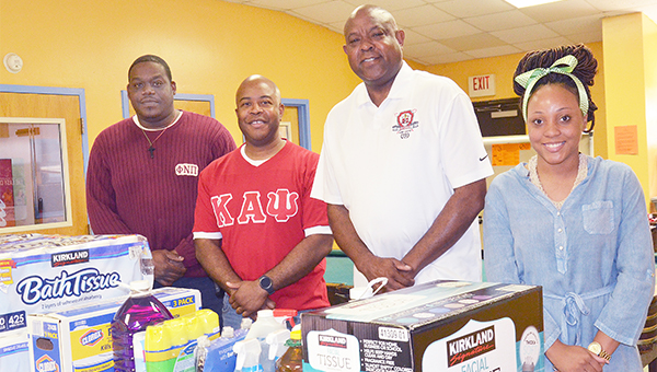 GIVING BACK: Troy Kappa Alpha Psi supports Boys & Girls Club