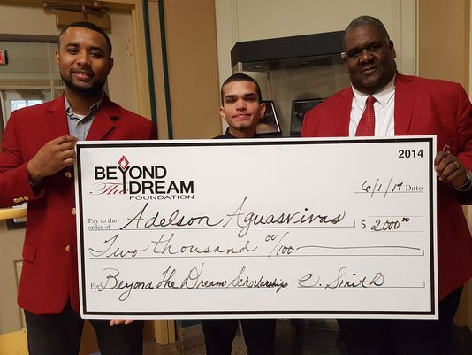Kappa Alpha Psi and Beyond The Dream Foundation Award City High School Students