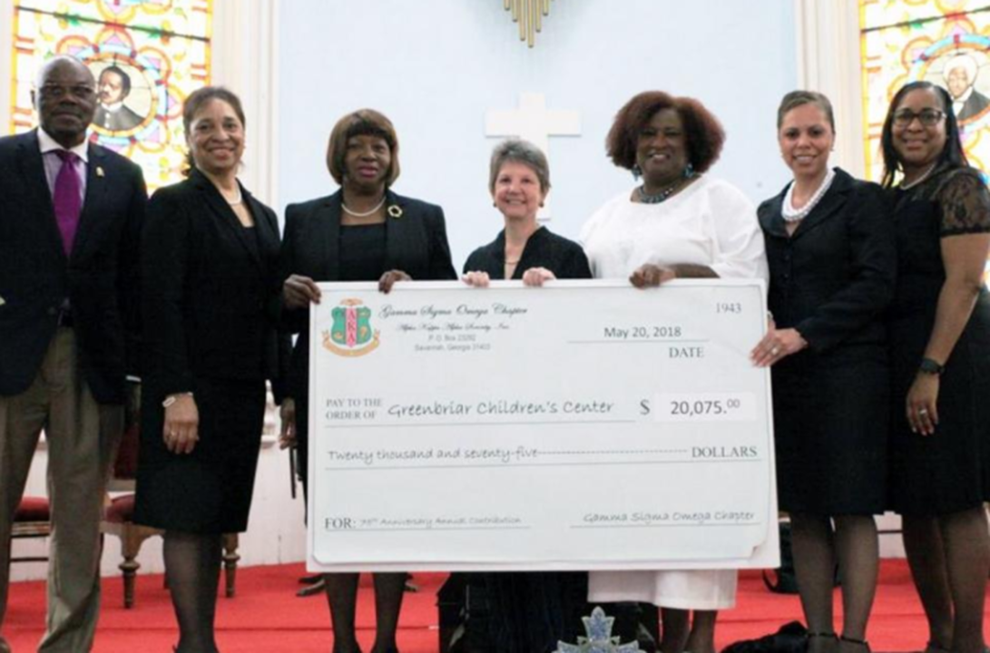 Alpha Kappa Alpha donates $20,075 to Greenbriar Children's Center