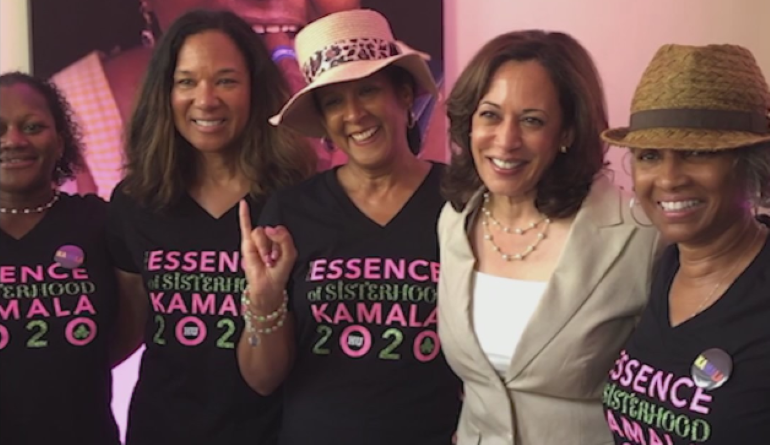 This Houston lawyer gave Kamala Harris the perfect sorority Greek name