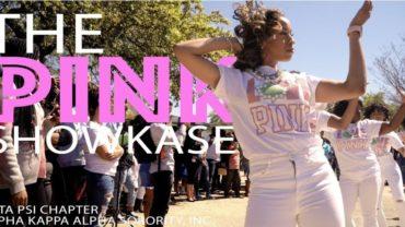 "Alpha Kappa Alpha | ""The Pink ShowKase"" Yard Show | Beta Psi Chapter"