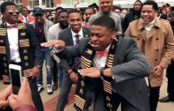 ALPHAs Omicron Kappa Chapter Graduation Step