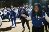Zeta Phi Beta Stepping at Howard University
