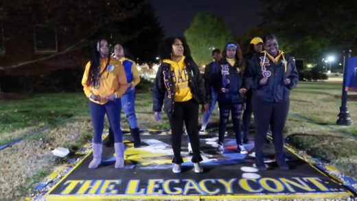 Check out the ladies of SGRho as their Spring 19' initiates celebrate their Founder's Day for the first time on the campus of Virginia State U