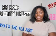 BIG NPHC SORORITY LINES | PROS & CONS