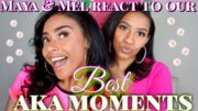 MAYA & MEL REACT TO OUR BEST AKA MOMENTS | 🎃