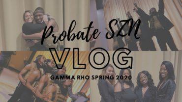 PURDUE VLOG: Gamma Rho Spring 20 Probate
