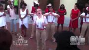 White Girl Reps Her Delta Sigma Theta At Probate Show 💯✊🏾