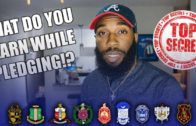 What Do You Learn While Pledging a Fraternity or Sorority | NPHC Advice | Corey Jones