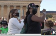 AKA Sisters in Philadelphia Celebrate Kamala Harris | NBC10 Philadelphia